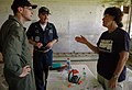 US Navy 080831-N-1328S-016 Vice Adm. John M. Bird speaks to a Project Hope doctor.jpg