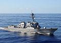 US Navy 080906-N-1082Z-067 The guided-missile destroyer USS Roosevelt (DDG 80) transits the Atlantic Ocean.jpg