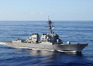 USS <i>Roosevelt</i> (DDG-80) Arleigh Burke-class destroyer