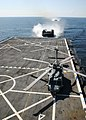 US Navy 090424-N-2354M-005 Landing craft, air cushion from Assault Craft Unit (ACU) 4 prepare to dock inside the amphibious dock transport ship USS Mesa Verde (LPD-19).jpg