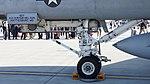 US Navy FA-18E Super Hornet (NF300 166859) of VFA-115 CAG bird nose landing gear static display at NCAS Iwakuni Base May 5, 2016.jpg
