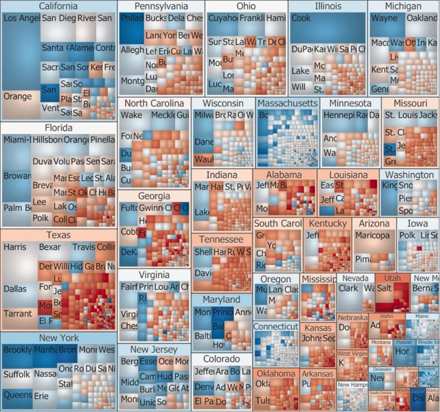 Voting treemap courtesy of Wikipedia