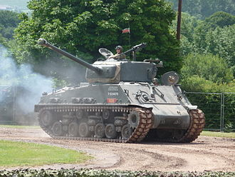 Fury (2014 film) - The Tank Museum's M4A2 76mm HVSS Sherman in 2009, the tank which portrayed Fury in the film.
