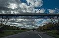 US Steel Pipeline Bridge, Highway 169, Hibbing, Minnesota (37248591410).jpg