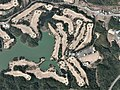 Ube 72 Country Club Mannen-ike East Course, Yamaguchi Yamaguchi Aerial photograph.2012.jpg