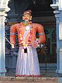 Udupi - Scenes of Sri Krishna Temple, dwarapalaka1.jpg