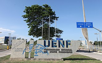 Campos dos Goytacazes - The State University of Northern Rio de Janeiro Entrance