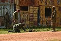 Ugandan Battle Group 22 conducts counter-IED exercise during pre-deployment training 170306-Z-CT752-0264.jpg