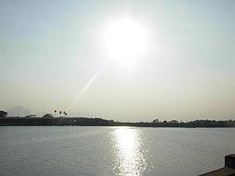 Ukkadam-Valankulam Lake - Image: Ukkadam big lake 1
