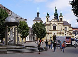 Ivano-Frankivsk old town