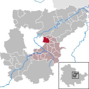 Umpferstedt - Image: Umpferstedt in AP
