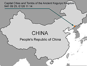 Capital Cities and Tombs of the Ancient Koguryo Kingdom - Capital Cities and Tombs of Goguryeo added to UNESCO in 2004