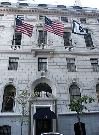 Union Club of the City of New York - Union Club entrance