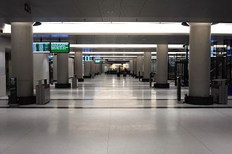 The Big Move - The York Concourse, completed in April 2015, is now the main concourse for GO Transit operations as the older Bay Concourse is renovated.