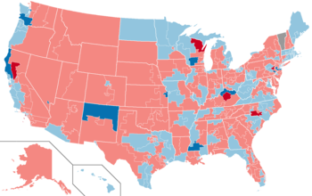 United States House Of Representatives Elections Wikipedia - Map of us house district 12 florida