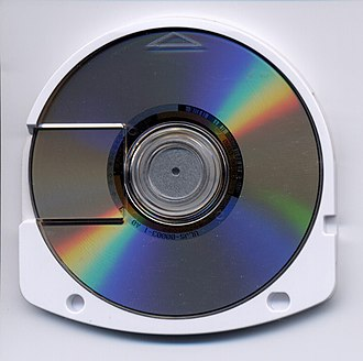 Universal Media Disc - Image: Universal Media Disc, an optical disc medium developed by Sony for use on the Play Station Portable