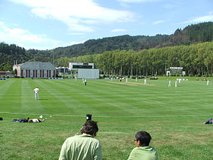 University of Otago Oval, Dunedin - Otago host Northern Districts at the University of Otago Oval in February 2007.