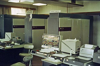 History of supercomputing - The University of Manchester Atlas in January 1963.