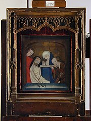 The Virgin, Mary Magdalene and St. John Mourning the Dead Christ