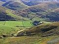 Unthank Farm from Stibbiegill Head - geograph.org.uk - 571796.jpg