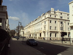High Commission of Barbados, London - Image: Upper Belgrave Street, Belgravia DSC05404