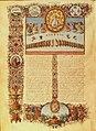 Urbino bible - Apocalypse - 24 Elders of the Apocalypse casting their crowns.jpg