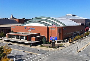 UW–Milwaukee Panther Arena - Exterior of venue (c.2010)