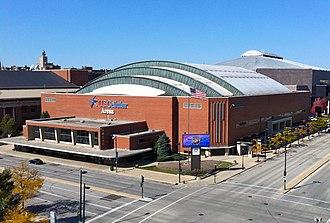 UW–Milwaukee Panther Arena - Exterior of venue (c.2010)