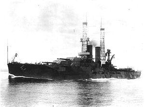 USS Utah (BB-31) - Utah circa 1911