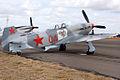 VH-YIX Yakovlev Yak-9UM (8428207916).jpg