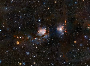 Messier 78 - Image: VISTA views Messier 78