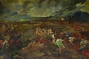 Battle of Krtsanisi - Battle of Krtsanisi by Valerian Sidamon-Eristavi