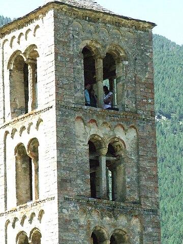 Església de Sant Climent de Taüll. Imatge: Gustau Erill i Pinyot. Llicència Creative Commons Reconeixement - Compartir igual 2.0 genèrica - No adaptada