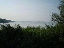 Il Po visto dal Parco regionale del Delta del Po