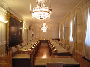 Government Palace (Finland) - Inside the Government Palace