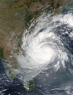 Cyclone Vardah North Indian cyclone in 2016