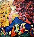 Vasily Kandinsky, Blue Mountain (1908–09) (48783560708).jpg