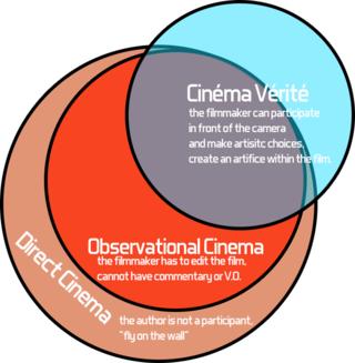 Cinéma vérité style of documentary filmmaking