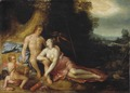 Venus and Adonis (Cornelis Cornelisz. van Harlem) - Nationalmuseum - 17387.tif
