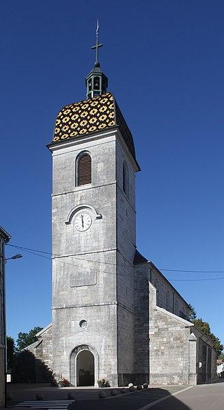 Église de Vercel (Doubs).
