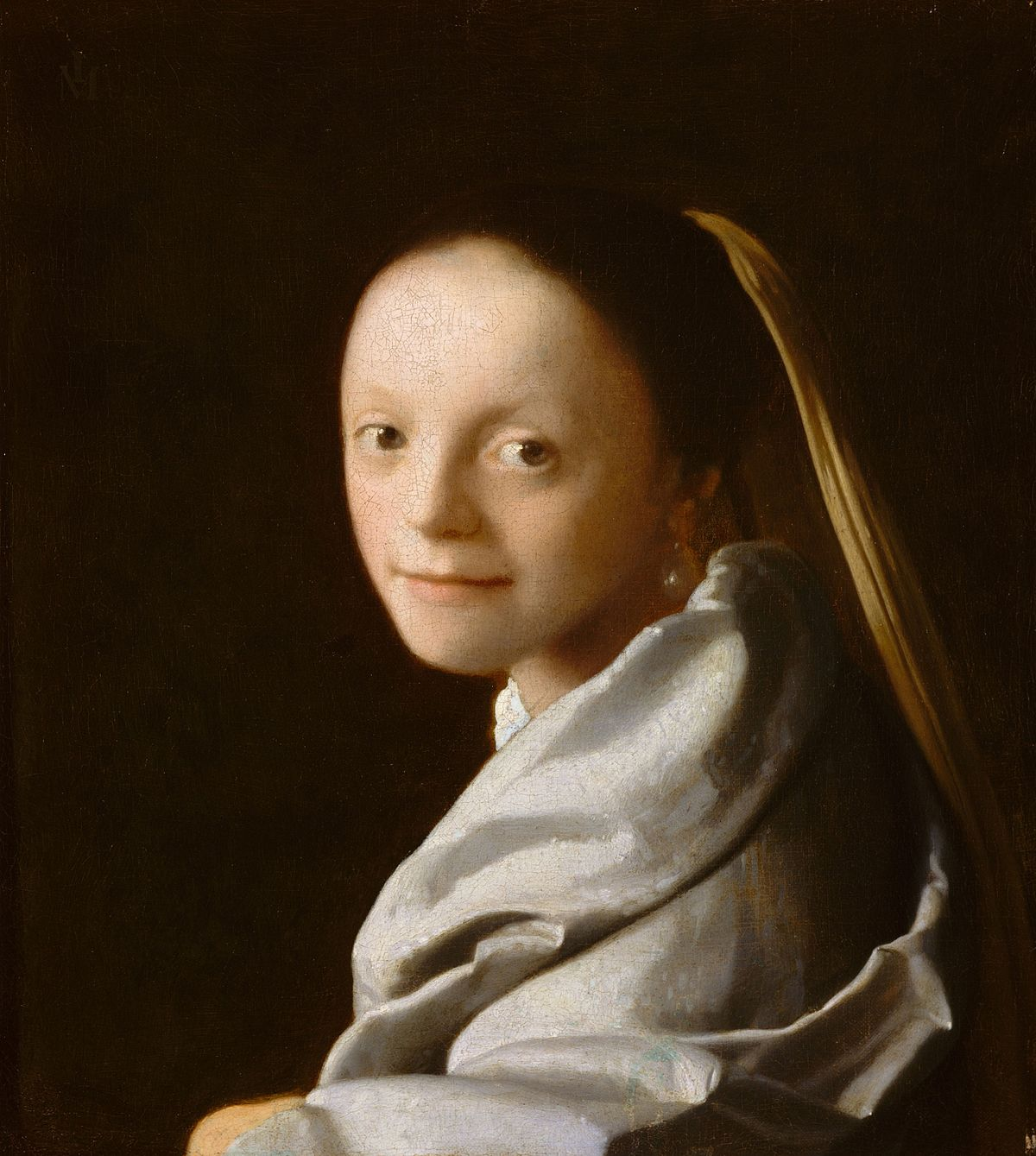 Девушка с жемчужной сережкой картина Яна Вермеера