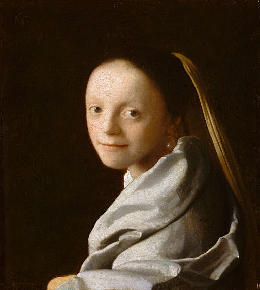 Vermeer-Portrait of a Young Woman