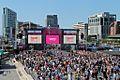 Very Big Catwalk event, Pier Head, Liverpool (geograph 4556046).jpg