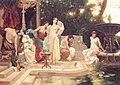 Victor Mueller Badende Schoene im orientalischen Garten.jpg
