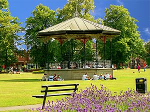 Bandstand - Victorian bandstand in Eastleigh, UK