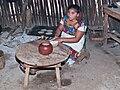 Vida maia - Facendo arepas - Quintana Roo - México.jpg