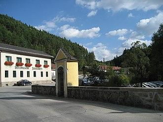Rappottenstein - Image: View in Rappottenstein