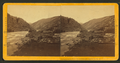 """View in S. Clear Creek. (Two miles up the creek from """"Fall River House"""" and four miles above Idaho.), by Chamberlain, W. G. (William Gunnison).png"""