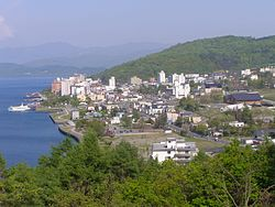 View of Tōyako