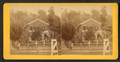 View of a home with a fence around in Dubuque,Iowa, by Root, Samuel, 1819-1889.png